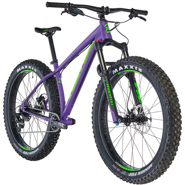 Kona WoZo 2. Wahl matt kona purple/lime green/black