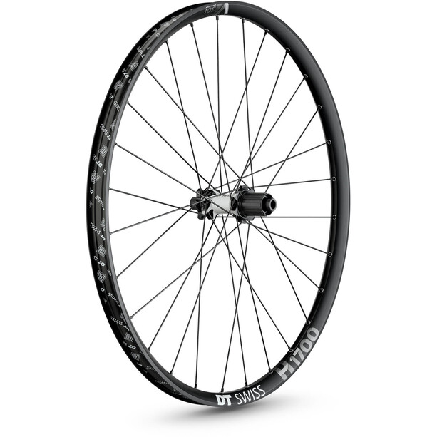 "DT Swiss H 1700 Spline Hinterrad 27.5"" Disc 6-Loch 148/12mm Steckachse 35mm black"
