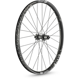 "DT Swiss H 1900 Spline Rear Wheel 27.5"" Disc 6-Bolt 148/12mm Thru-Axle 30mm MicroSpline black black"