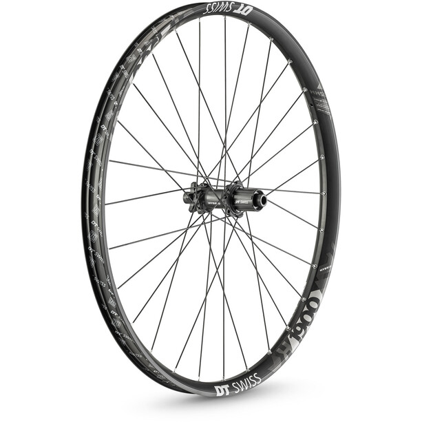 "DT Swiss H 1900 Spline Rear Wheel 27.5"" Disc 6-Bolt 148/12mm Thru-Axle 30mm MicroSpline black"