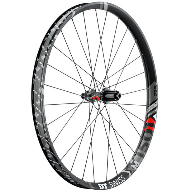 "DT Swiss XM 1501 Spline Hinterrad 27.5"" Disc CL 142/12mm Steckachse 40mm black"