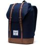 Herschel Retreat Backpack 19,5l peacoat/saddle brown