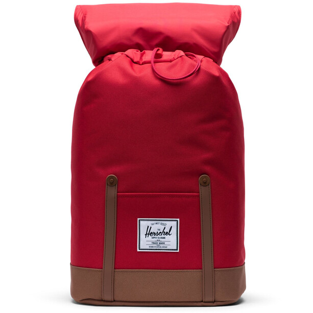 Herschel Retreat Rucksack 19,5l red/saddle brown