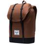 Herschel Retreat Rucksack 19,5l saddle brown/black