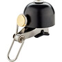 Red Cycling Products Classic Brass Klokke Svart