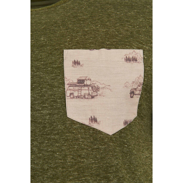 United By Blue Standard Printed Pocket SS Tee Herr Olive
