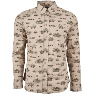 United By Blue Outpost LS Button Down Herr Mushroom/Adventure Mobile Mushroom/Adventure Mobile
