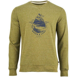 United By Blue Take A Stand Crew Pullover Herr Alpine Green Alpine Green