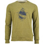 United By Blue Take A Stand Crew Pullover Herr Alpine Green