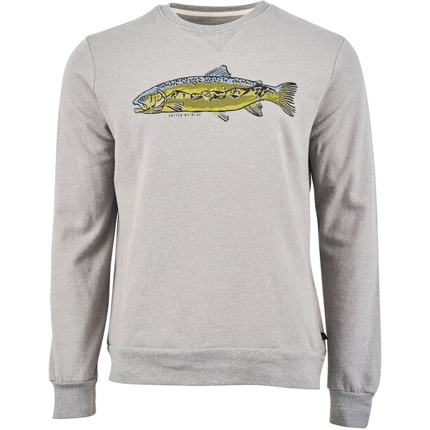 United By Blue Scale New Heights Crew Pullover Herr Boulder Grey