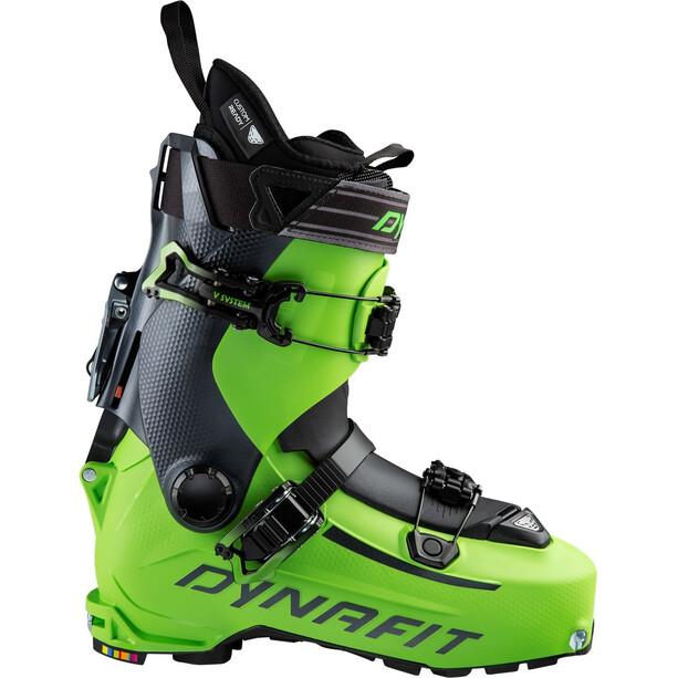Dynafit Hoji PU Ski Boots green machine/asphalt