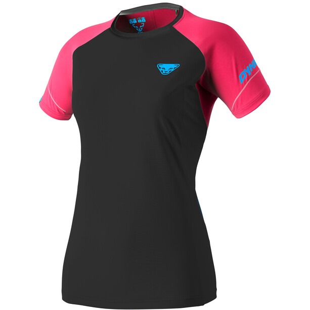 Dynafit Alpine Pro Kurzarm T-Shirt Damen fluo pink