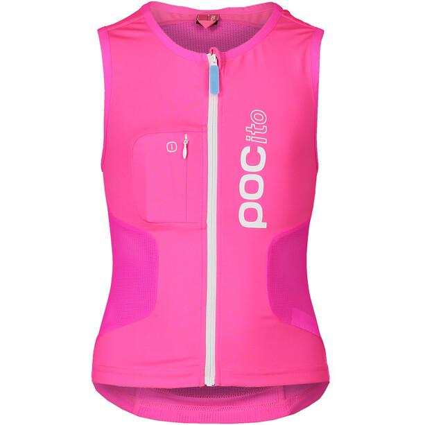 POC POCito VPD Air Protektor Weste Kinder fluorescent pink