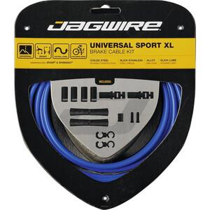 Jagwire Sport XL ユニバーサル Brake Cable セット (Shimano/SRAM用) ブルー