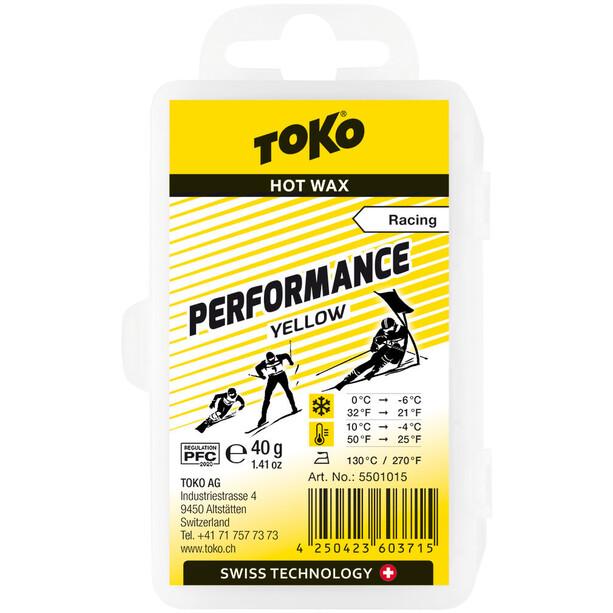 Toko Performance Heißwachs Yellow 40g