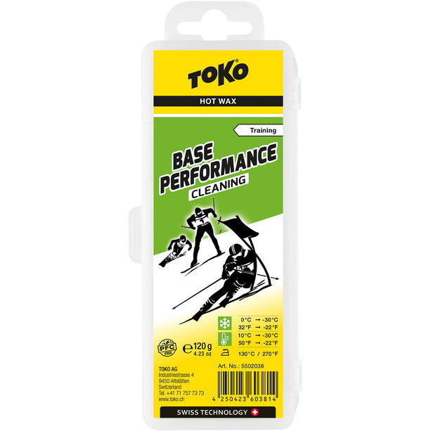 Toko Base Performance HydroCarbon Wachs Cleaning 120g