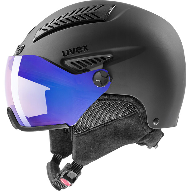 UVEX hlmt 600 Vario Helm schwarz