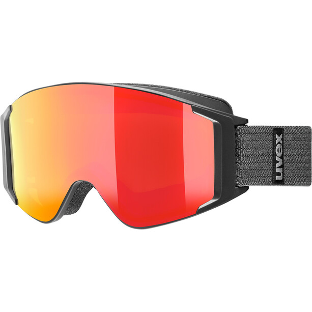 UVEX g.gl 3000 TO Goggles black mat/fullmirror red