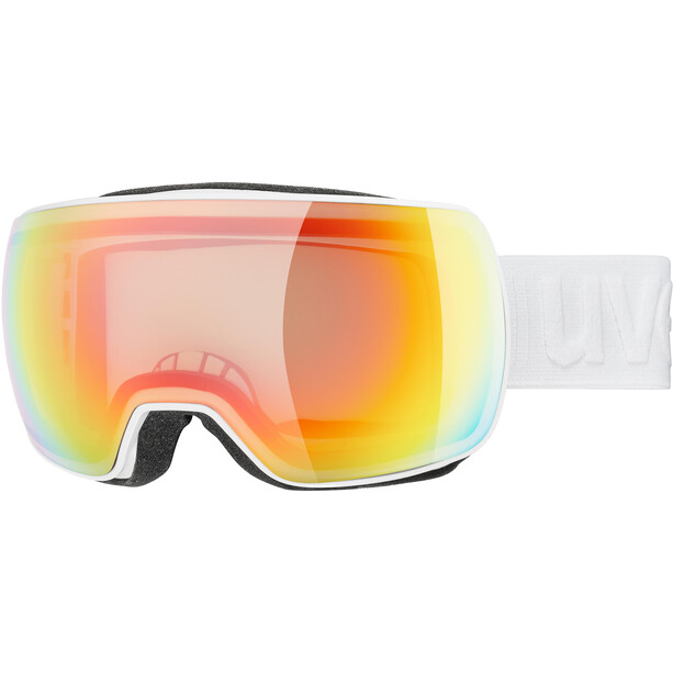 UVEX Compact V Uimalasit, valkoinen/oranssi