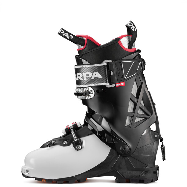 Scarpa Gea RS Skitouring Shoes white/black/warm red