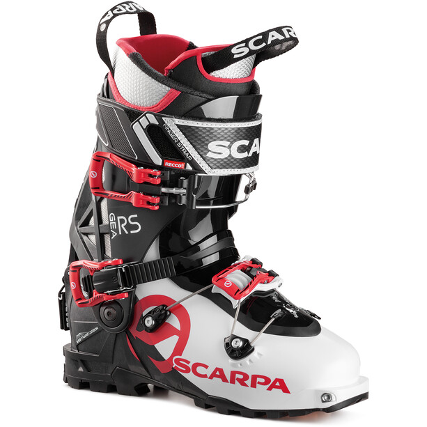 Scarpa Gea RS Skitouring Shoes White-Black-Warm Red