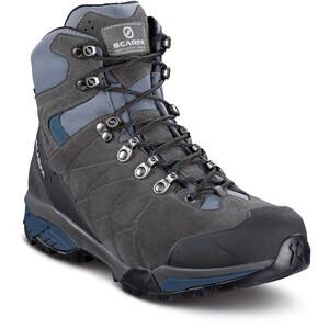Scarpa ZG Trek GTX Shoes Herr titanium-lake blue titanium-lake blue