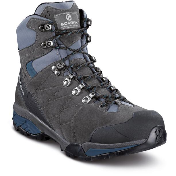 Scarpa ZG Trek GTX Shoes Herr titanium-lake blue
