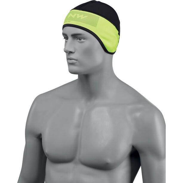 Northwave Active Kopfbedeckung black/yellow fluo