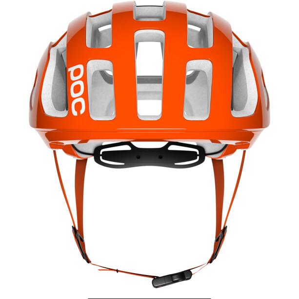 POC Octal Helm zink orange avip