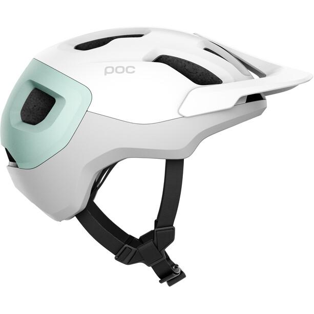 POC Axion Spin Helm hydrogen white/apophyllite green matt