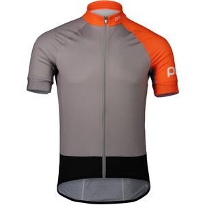 POC Essential Road Trikot Herren granite grey/zink orange granite grey/zink orange