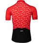 POC Essential Road Logo Trikot Herren polka poc prismane red