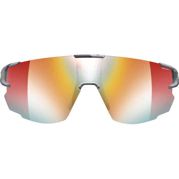 Julbo Aerospeed Segment Light Red Sonnenbrille grey/yellow/multilayer red
