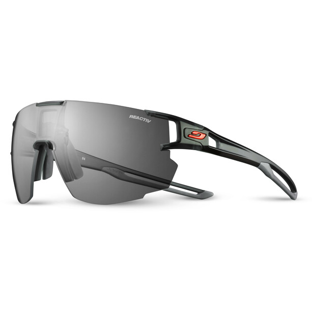 Julbo Aerospeed Segment Light Red Sonnenbrille black/grey