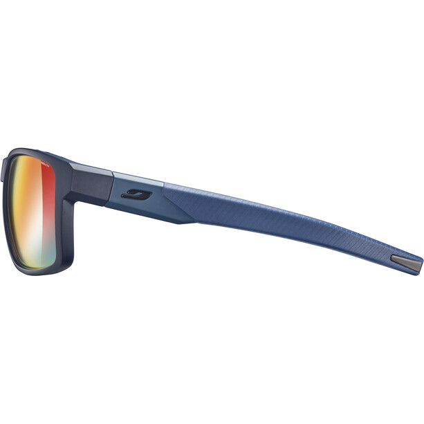 Julbo Stream Reactiv Performance Lunettes de soleil Homme, dark blue/blue/multilayer red