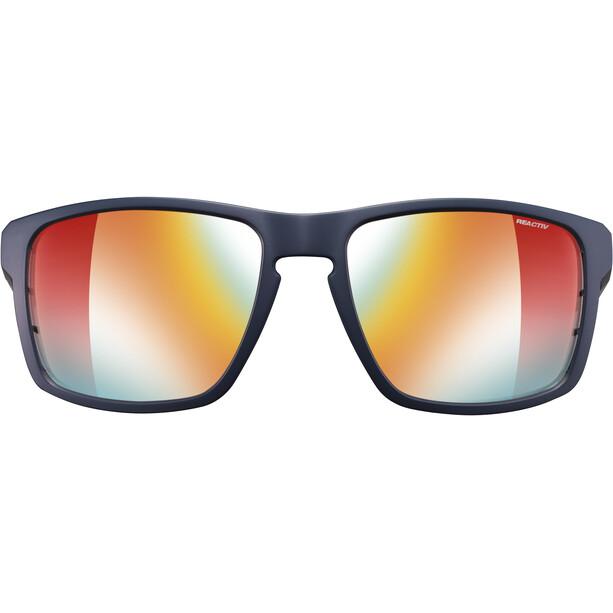 Julbo Stream Reactiv Performance Sonnenbrille Herren dark blue/blue/multilayer red