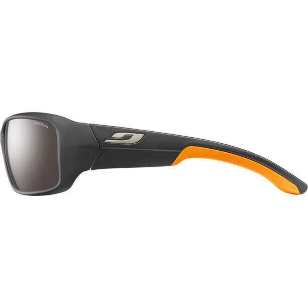 Julbo Run Spectron 4 Sonnenbrille Herren matt black/orange/brown flash silver