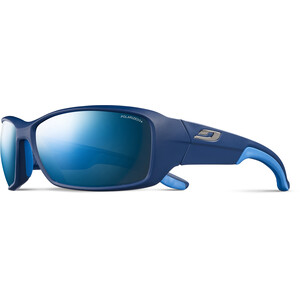 Julbo Run Polarized 3+ Sonnenbrille Herren matt blue/blue/grey flash blue matt blue/blue/grey flash blue