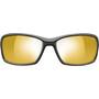 Julbo Run Reactiv Performance Sonnenbrille Herren matt black/black/yellow/brown
