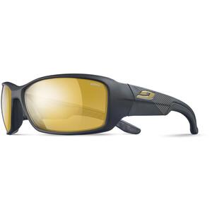 Julbo Run Reactiv Performance Sonnenbrille Herren matt black/black/yellow/brown matt black/black/yellow/brown