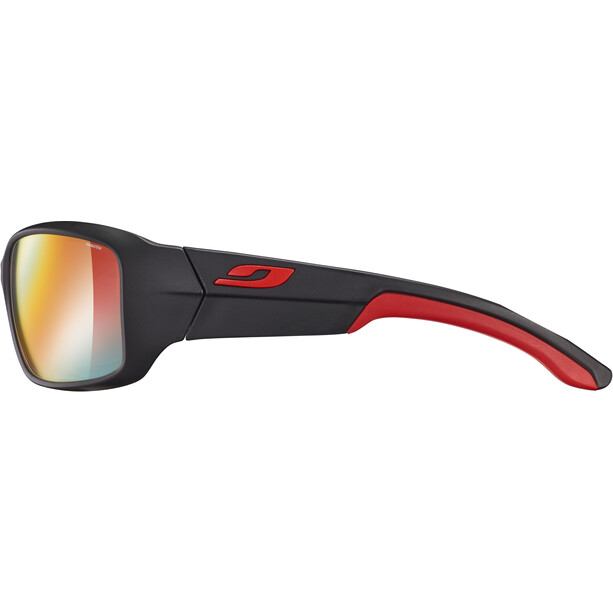 Julbo Run Reactiv Performance Sonnenbrille Herren black/red/multilayer red