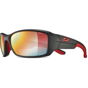 Julbo Run Reactiv Performance Sonnenbrille Herren black/red/multilayer red black/red/multilayer red