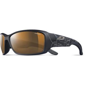 Julbo Run Reactiv High Mountain Sonnenbrille Herren black/wallpaper/brown black/wallpaper/brown