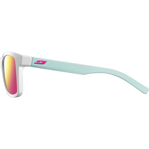 Julbo Beach Spectron 3CF Sunglasses Men shiny white/blue/multilayer rosa