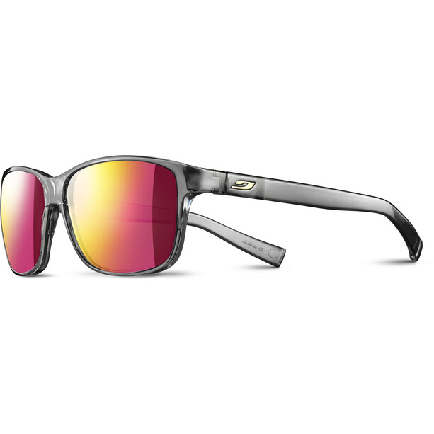 Julbo Powell Spectron 3 CF Sonnenbrille Herren shiny grey/multilayer rosa