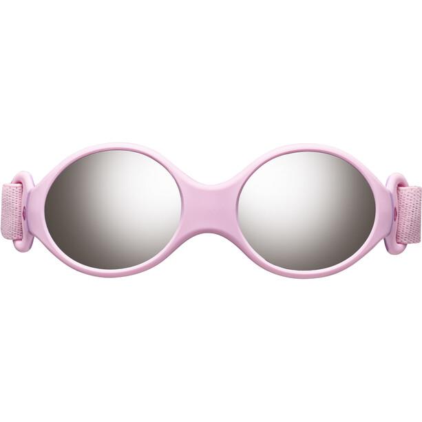 Julbo Loop S Spectron 4 Sonnenbrille Kinder light rosa/rosa/grey flash silver