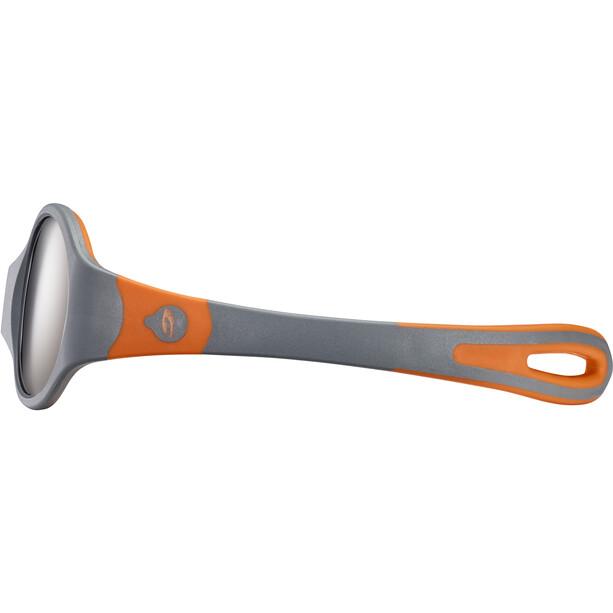 Julbo Loop L Spectron 4 Sonnenbrille Kinder grey/orange/grey flash silver