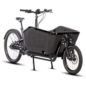 "Cube Cargo Hybrid 20""/27.5"" schwarz schwarz"