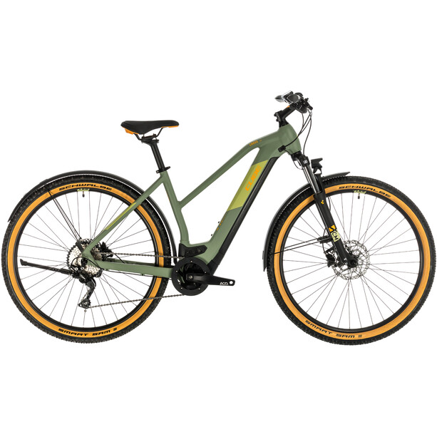 Cube Cross Hybrid Pro 500 Allroad Trapez green'n'orange