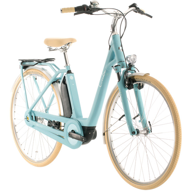 Cube Ella Cruise Hybrid 400 Easy Entry blue'n'blue